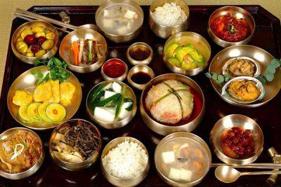 bữa cơm của người hàn hấp dẫn cả về hình thức lẫn hương vị
