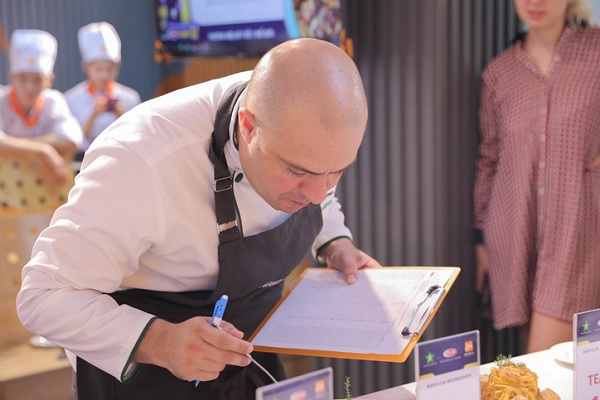 Chef Frank Sempere chấm điểm