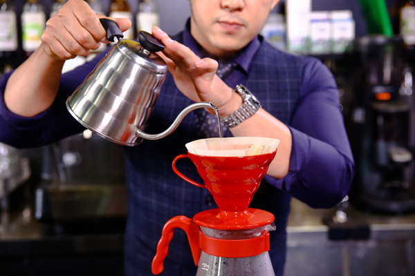 Kỹ thuật Pour Over cho ra tách café
