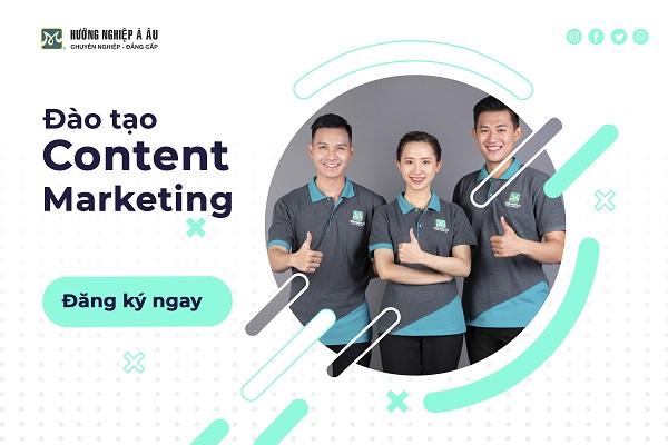 khóa học content marketing