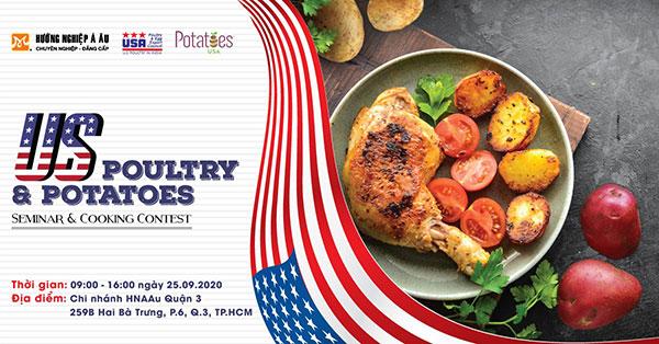 us poultry potatoes seminar cooking contest là chương trình bổ ích với nhiều kỹ năng quan trọng